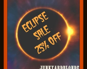 ECLIPSE SALE,25% Off Shop,Coupon Code,JYBVIP20,shopsmall,vintage,Sale,gifts,retro,kitsch,mcm,Eclipse,Vintage,Retro,Kitsch,Glamping,MCM