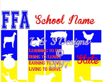 FFA LIFE SVG