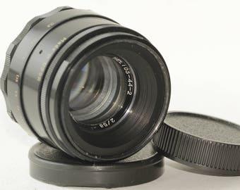 Helios-44-2 58mm f./ 2 Helios 44-2 M42 Lens + Sony E NEX (for E-mount cameras)