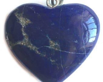Lapis Lazuli Heart 1.5inch