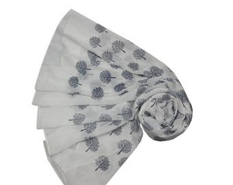 Beautiful Mulberry Tree Scarf