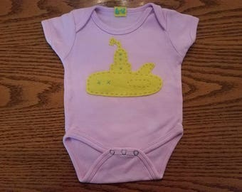 Yellow Submarine Onesie