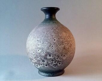 Vintage WORMSER TERRA - Sigillata  West German Fat Lava Round Vase...19cm...Perfect