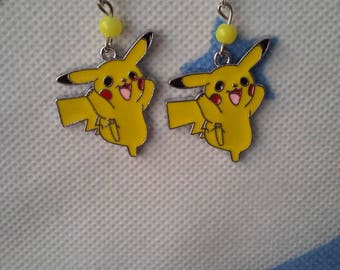 Pokemon Pikachu earring