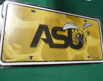NEW- Alabama State University License Plate Tag