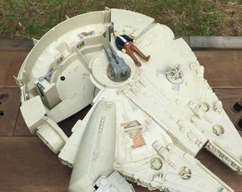 Millenium Falcon and Han Solo