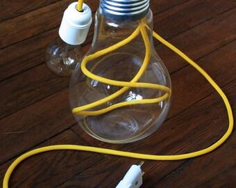 Glass bulb lamp
