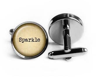 Sparkle Cufflinks
