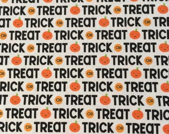 Trick or Treat fabric from Ghouls & Goodies Collection by Riley Blake Designs
