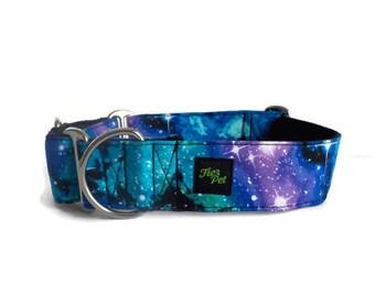 martingale collar, dog martinguale collar,galaxiecollar ,whippet collar, greyhound collar