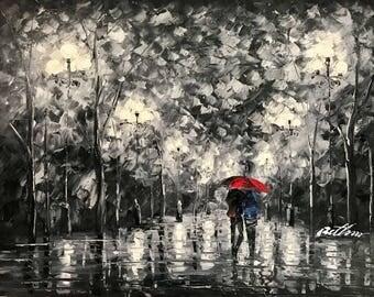 Couple With Umbrella Etsy