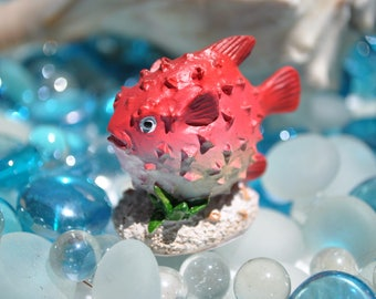 how to make puffer fish lamp