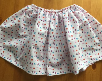 Childs drawstring skirt.
