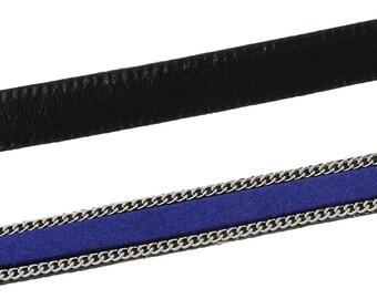 25 cm 10mm dark blue cord