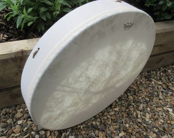 Plain Unpainted Vegan Buffalo Drum