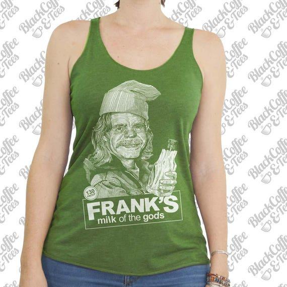 St Patricks Day Shirt - Shameless Shirt- Womens Frank Gallagher Shirt - Frank from Shameless Beer Shirt Hand Screen Printed Green Tank Top