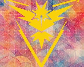 Team Instinct // Pokémon // SVG // Printable