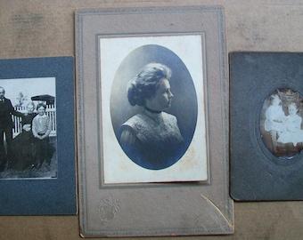 Lot de 3 Photos armoires Vintage