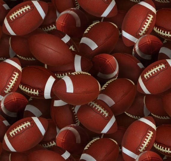 Football Fabrics Football Yardage Footballs Toss