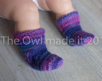 Newborn baby girl socks |  Girl baby socks| Newborn socks| Infant socks| Wool socks| Knit socks| Ready to ship