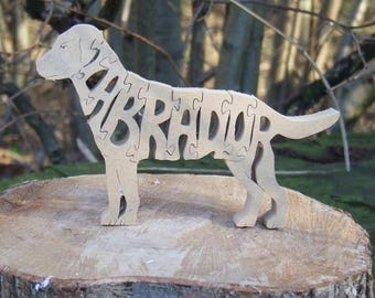 Labrador Retriever jigsaw,  Labrador puzzle, Labrador gift, Labrador ornament, gift for dog owners, Labrador memorial