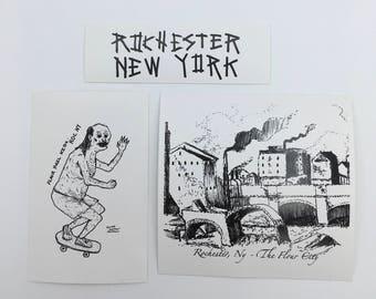 Rochester NY stickers