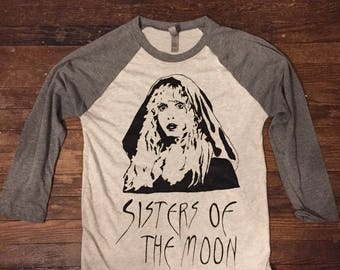 Stevie Nicks Sisters of the Moon raglan shirt unisex