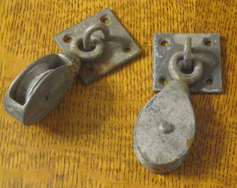 Ceiling Mount Pulleys , Pulleys , Galvanized Pulleys , Two Rope Pulleys , Boat Pulleys , Nautical