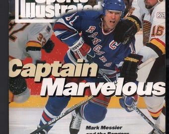 Vintage Magazine - Sports Illustrated : June 13 1994 - Mark Messier