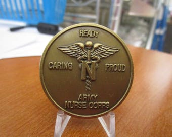United States Army Nurse Corps Challenge Coin #3531