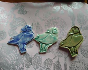 Decorative Ceramic Puffin