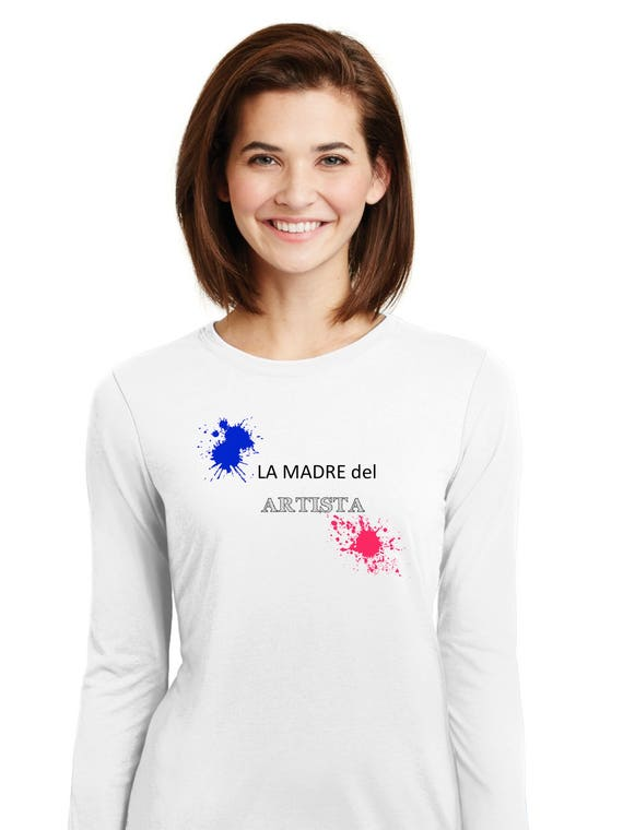 Round neck women t-shirt La Madre del Artista
