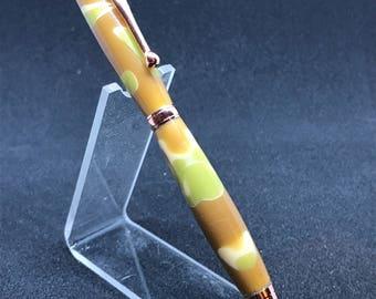 Slim Twist Pen w/Cross style Refill Handmade