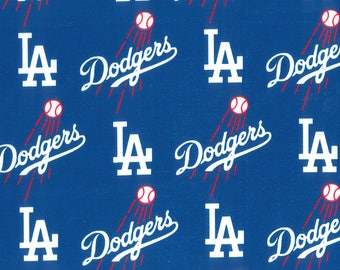 LA Dodgers Lampshade Cover, Matching Night Light, Matching Switchplates