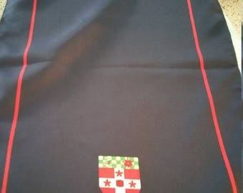 End of Summer Shield Long Scarf. Made in England. 56 X 12