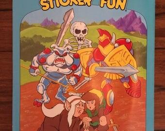 Nintendo Legend of Zelda Sticker Fun Book