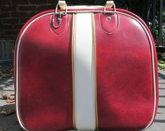 Red bowling bag
