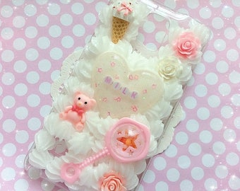 SALE Note 4 Milk Decoden Case