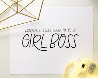 Girl Boss | Print | 8x10