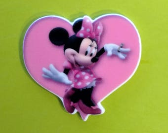Minnie on a Heart Planar Resin