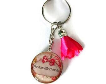 Jewelry bag or key ring I am attachiante