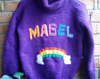 Mabes's Sweater Rainbow
