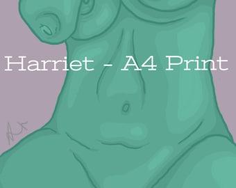 Harriet - A4 Print
