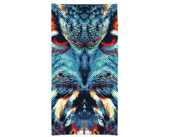Owl - Colorful Animals Towel