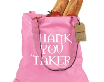 Thank You Undertaker Shopping Tote Bag