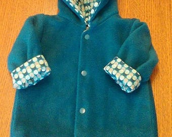 baby coat and blanket set