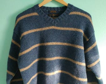 Tommy Hilfiger Lambswool Striped Sweater