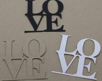Love: set of 3 cuts title