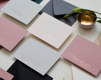 Foil Pressed cards - Variety Pack