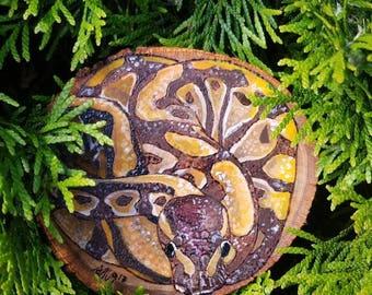 Handful of Snake - Snake Art - by Yarrish Arts